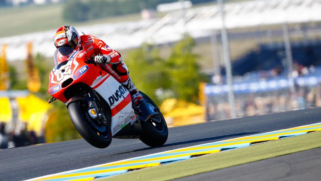 Andrea Dovizioso, Ducati Team, FRA FP4