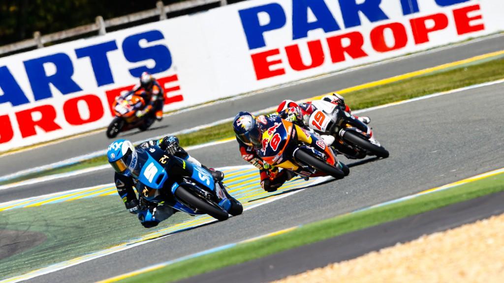 Romano Fenati, Jack Miller, SKY Racing Team VR46, Red Bull KTM Ajo, FRA QP