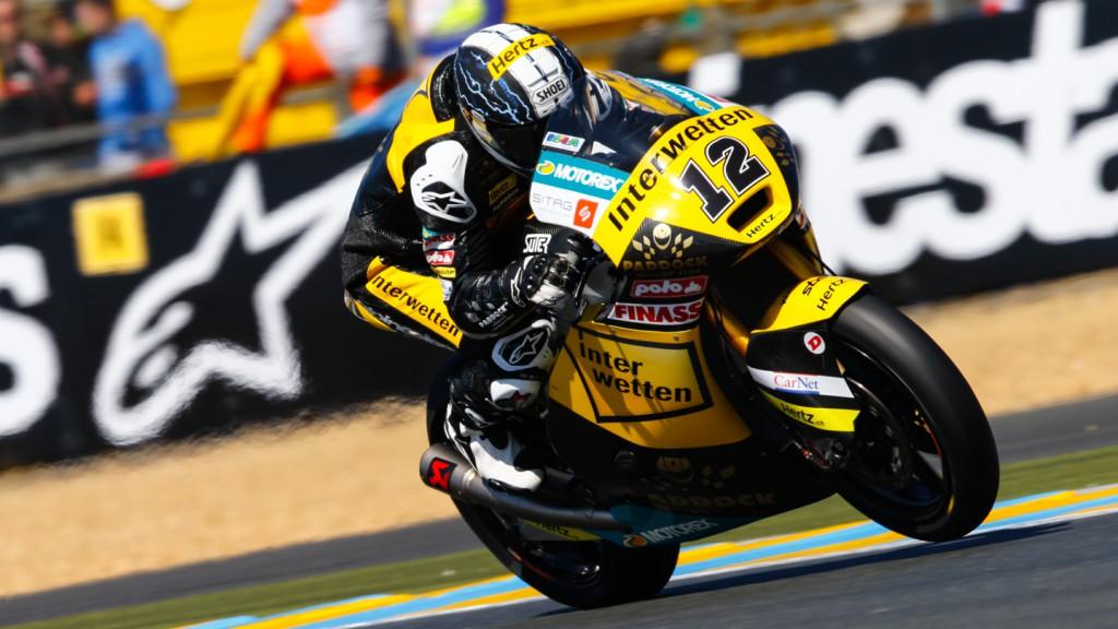 Thomas Luthi, Interwetten Paddock Moto2, FRA FP3