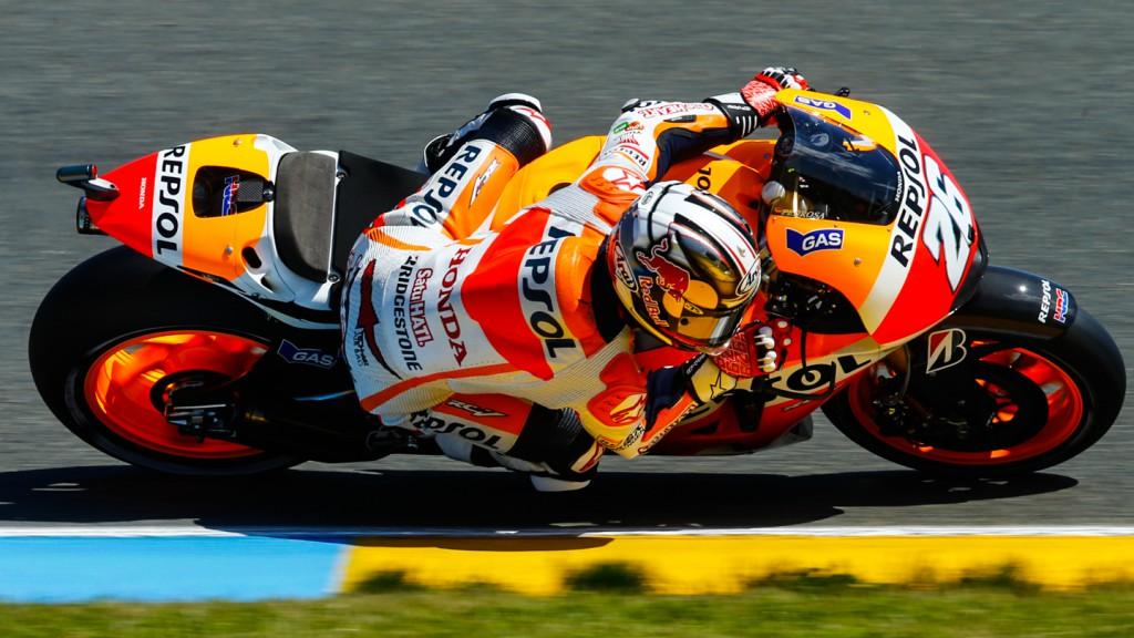Dani Pedrosa, Repsol Honda Team, FRA Q2