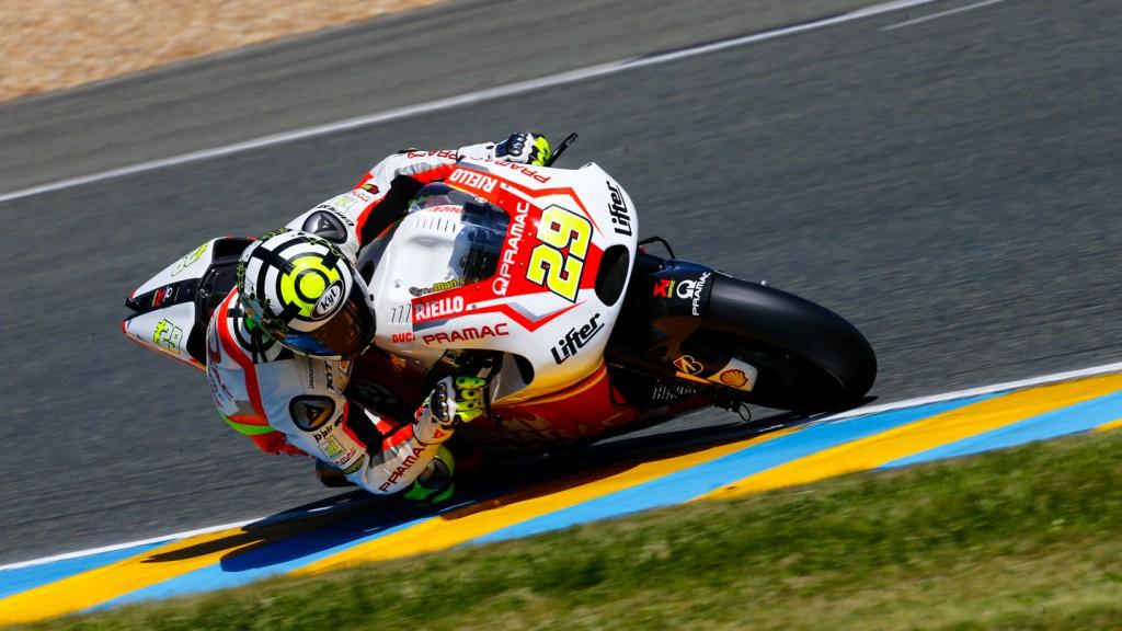 Andrea Iannone, Pramac Racing, FRA FP3