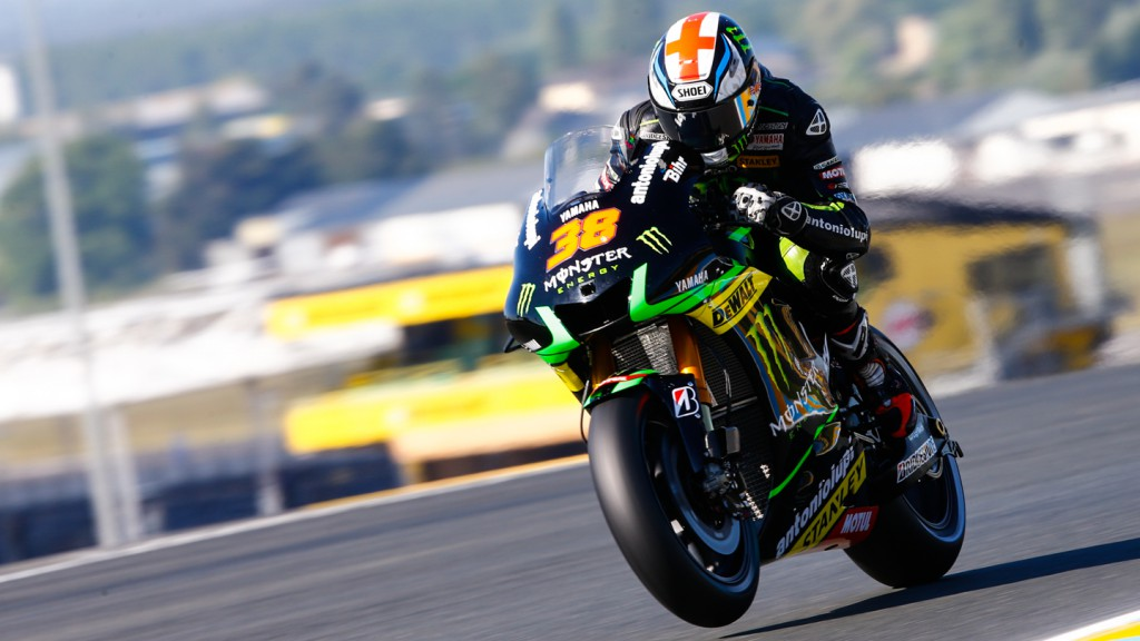 Bradley Smith, Monster Yamaha Tech 3, FRA Q2