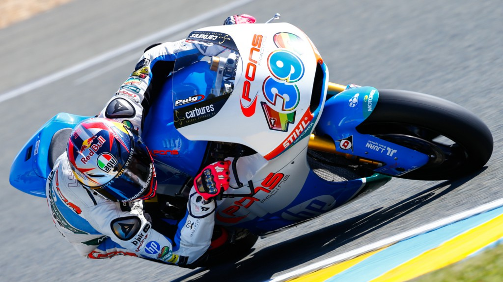 Luis Salom, Pons HP 40, FRA FP3