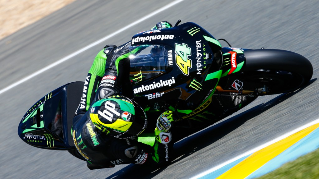 Pol Espargaro, Monster Yamaha Tech 3, FRA Q2