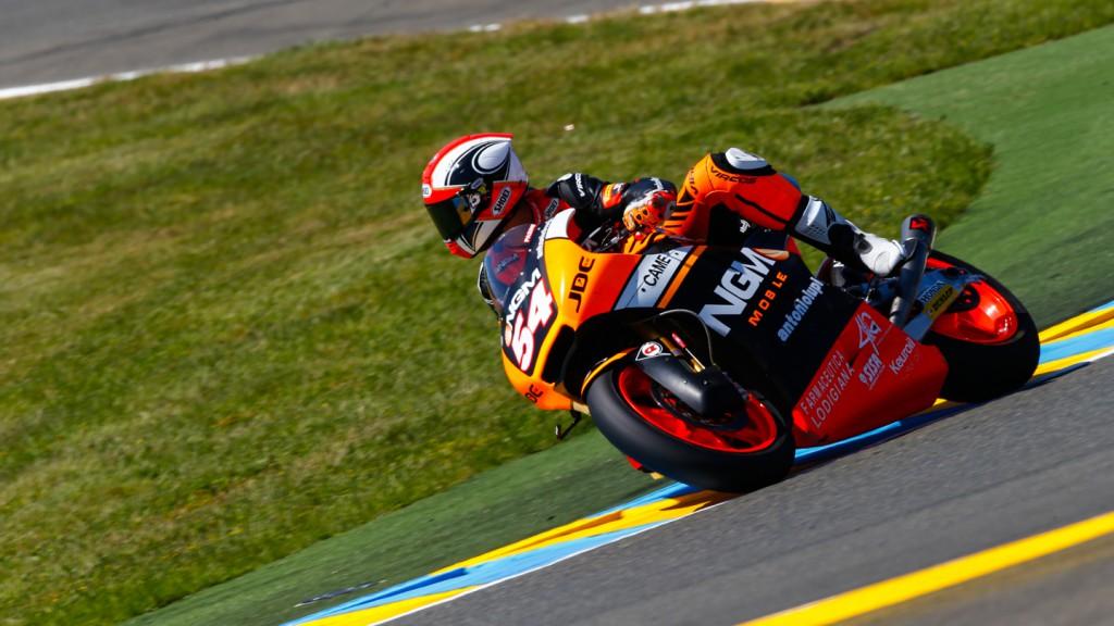 Mattia Pasini, NGM Forward Racing, FRA QP