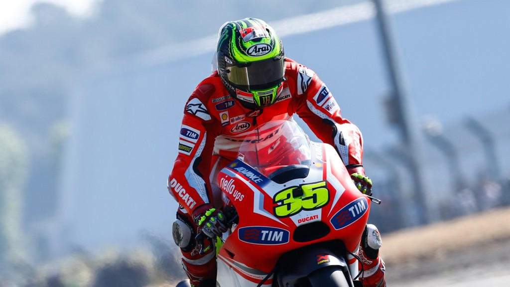 Cal Crutchlow, Ducati Team, FRA Q2