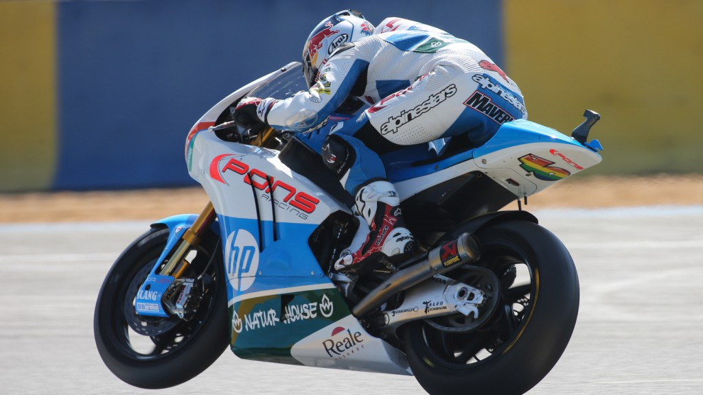 Maverick Viñales, Pons HP 40, FRA QP