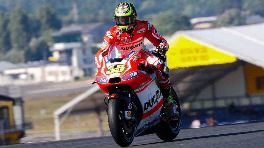 Cal Crutchlow, Ducati Team, FRA Q1
