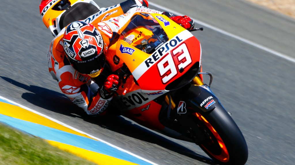 Marc Marquez, Repsol Honda Team, FRA FP4