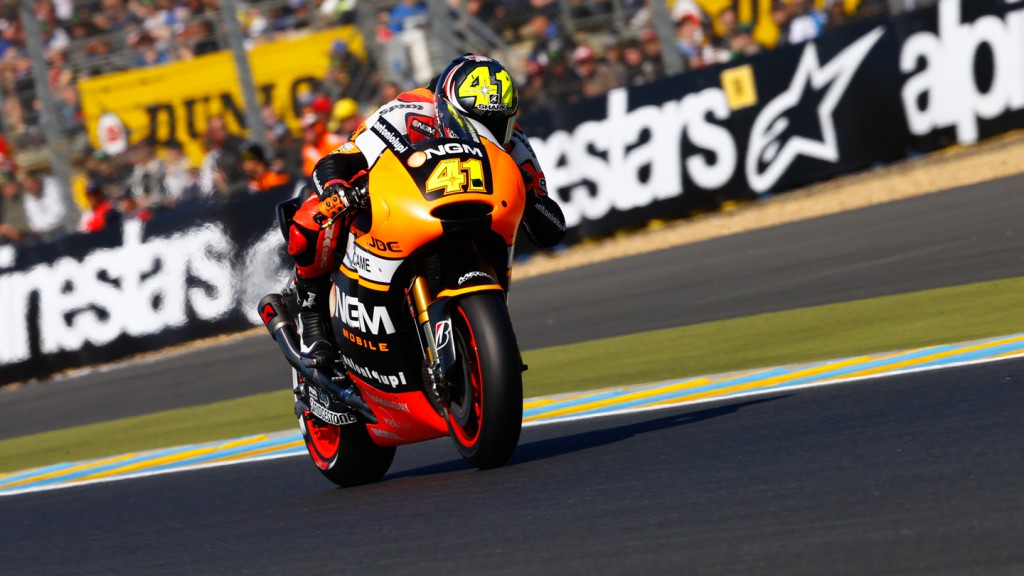 Aleix Espargaro, NGM Forward Racing, FRA Q2