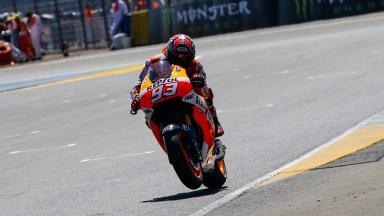 Marc Marquez, Repsol Honda Team, FRA Q2