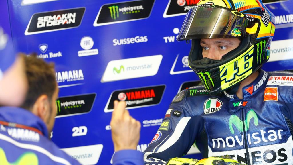 Valentino Rossi, Movistar Yamaha MotoGP, FRA Q2