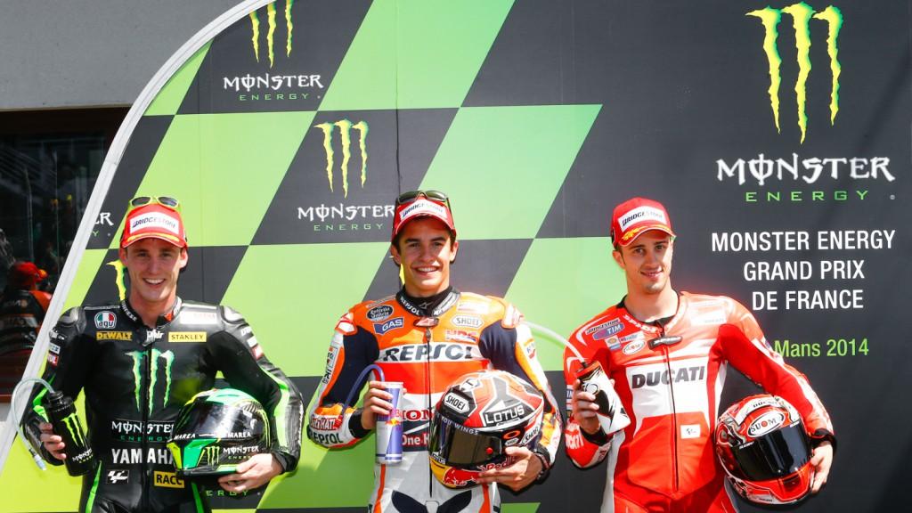 Front row MotoGP, FRA Q2