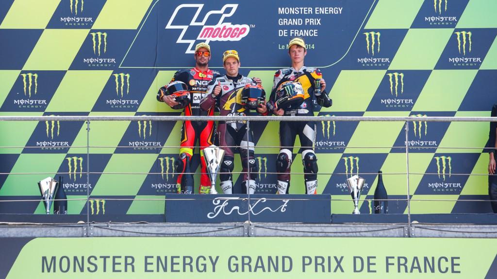 Moto2 Podium, FRA RACE