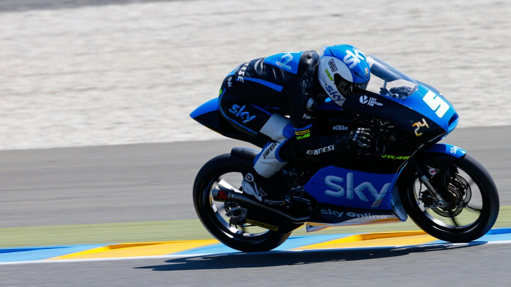 Romano Fenati, SKY Racing Team  VR46, FRA WUP