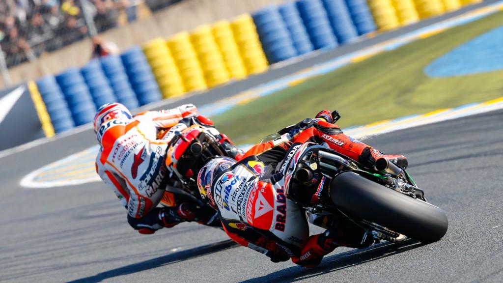 Stefan Bradl, Marc Marquez, LCR Honda MotoGP, Repsol Honda Team, FRA WUP