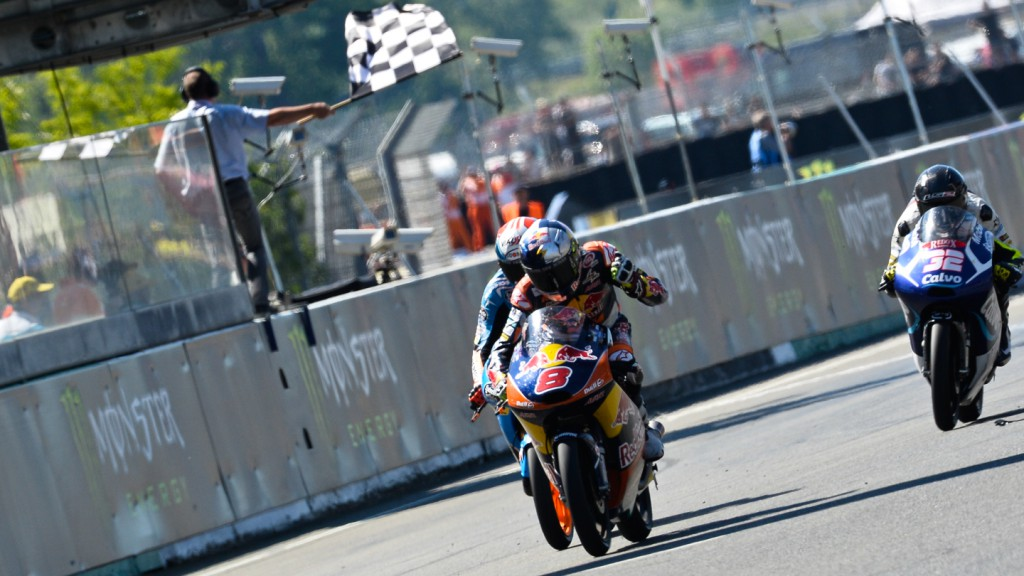 Moto3 finish, FRA RACE