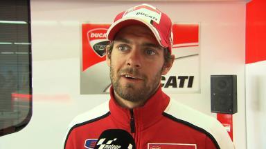 Le Mans 2014 - MotoGP - RACE - Interview - Cal Crutchlow