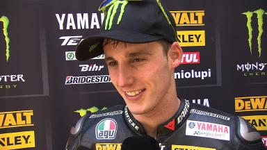 Le Mans 2014 - MotoGP - RACE - Interview - Pol Espargaro