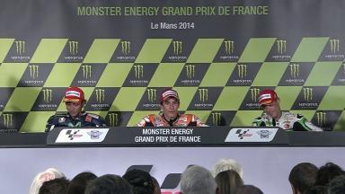 Monster Energy Grand Prix de France: Sunday Press Conference