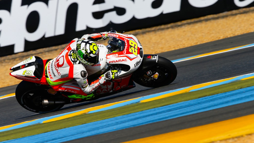 Andrea Iannone, Pramac Racing, FRA WUP