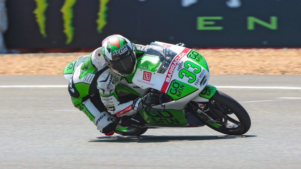 Enea Bastianini, Junior Team GO&FUN Moto3, FRA RACE