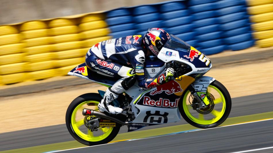 motogp.com · Danny Kent, Red Bull Husqvarna Ajo, FRA WUP