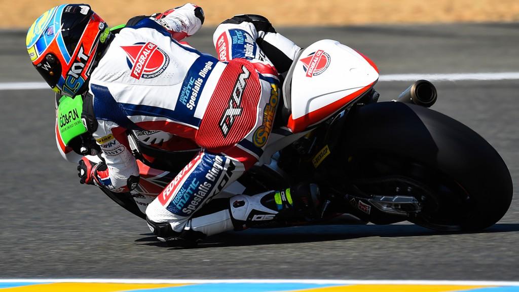 Xavier Simeon, Federal Oil Gresini Moto2, FRA RACE