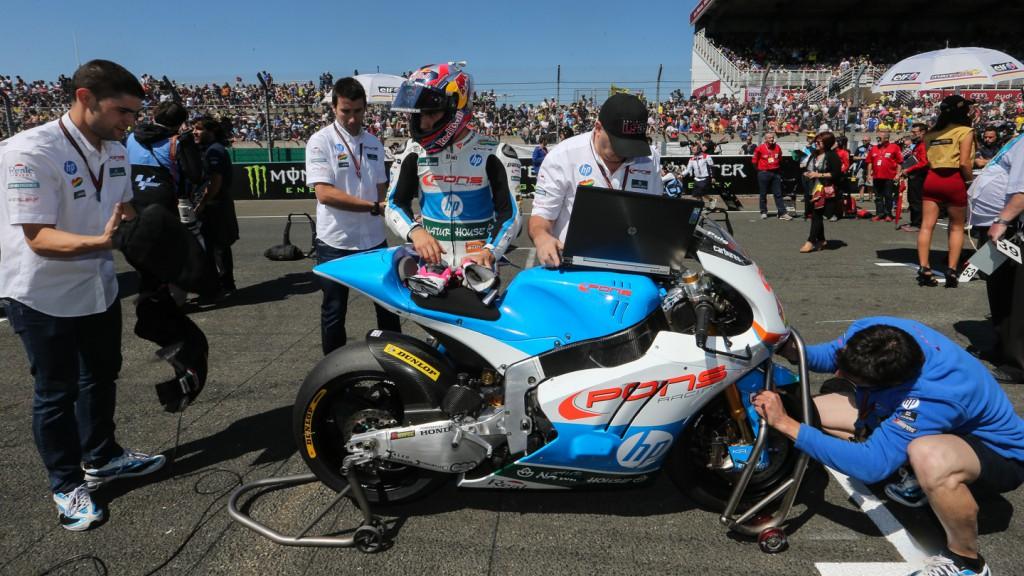 Luis Salom, Pons HP 40, FRA RACE