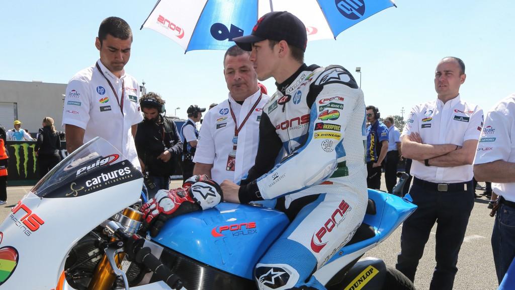 Maverick Viñales, Pons HP 40, FRA RACE