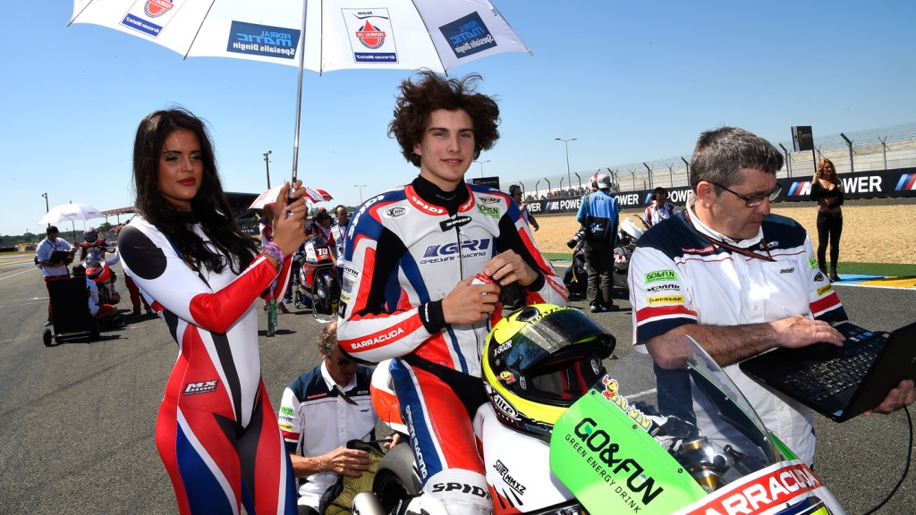 Lorenzo Baldassarri, Gresini Moto2, FRA RACE