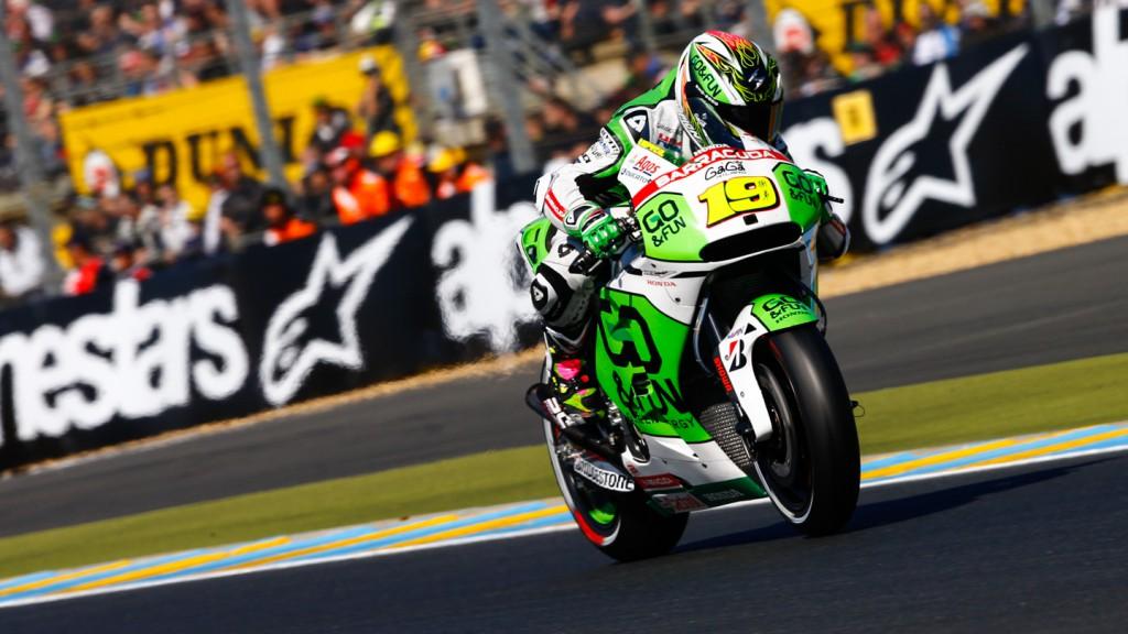Alvaro Bautista, GO&FUN Honda Gresini, FRA RACE