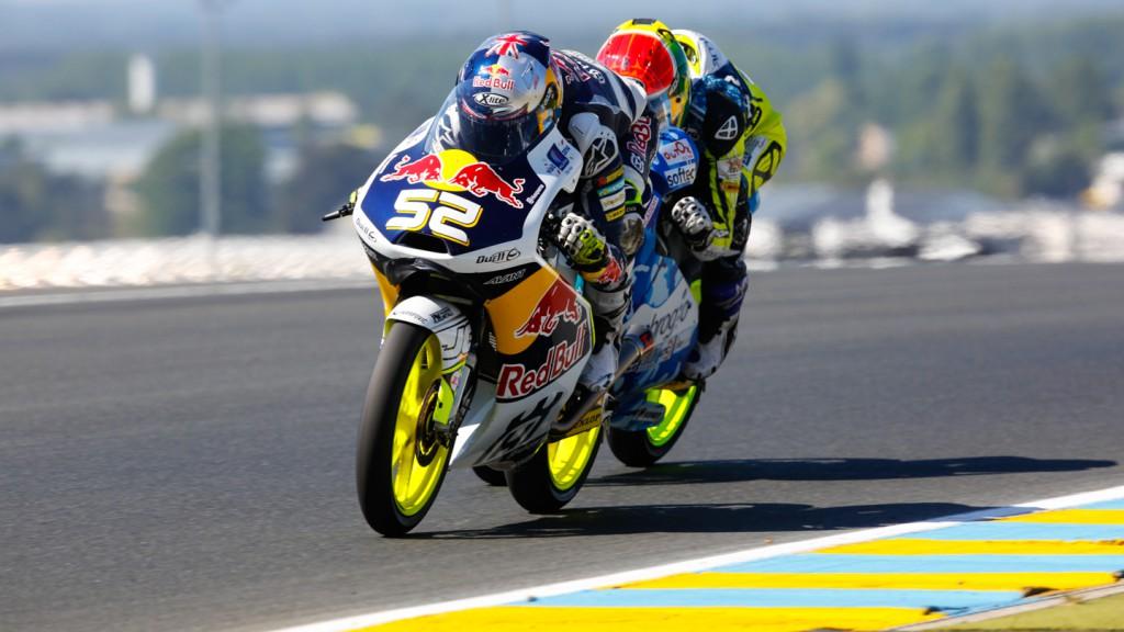 Brad Binder, Danny Kent, Ambrogio Racing, Red Bull Husqvarna Ajo, FRA RACE