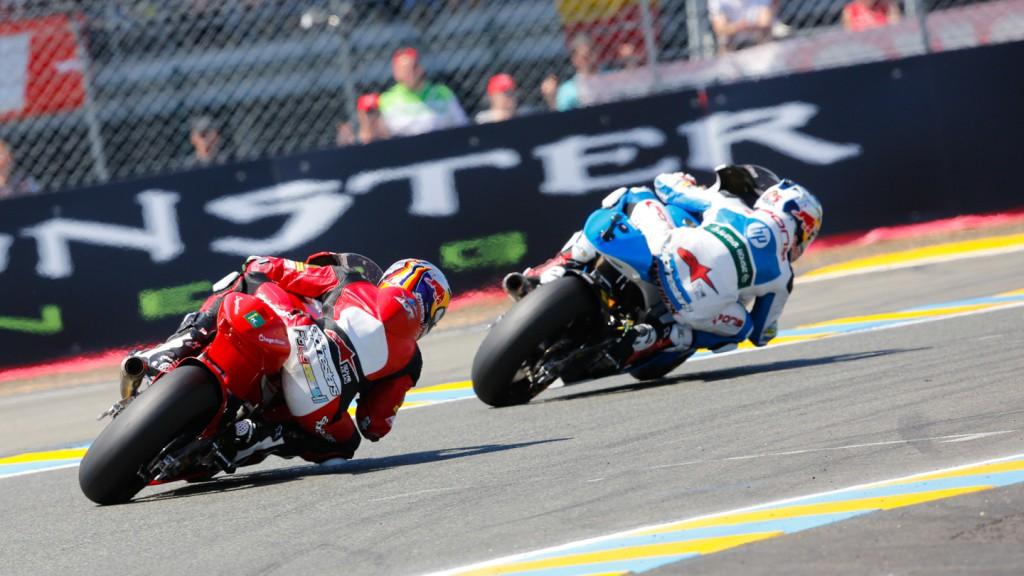 Jonas Folger, Maverick Viñales, AGR Team, Pons HP 40, FRA RACE