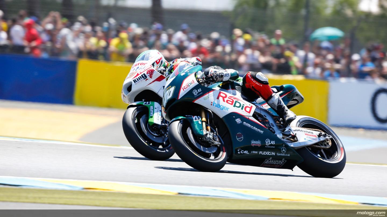 motogp.com · Mike Di Meglio, Broc Parkes, Avintia Racing, Paul Bird Motorsport, FRA RACE