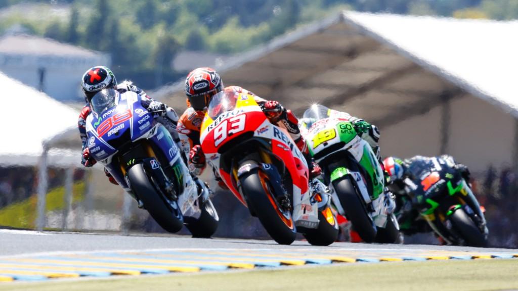 MotoGP, FRA RACE