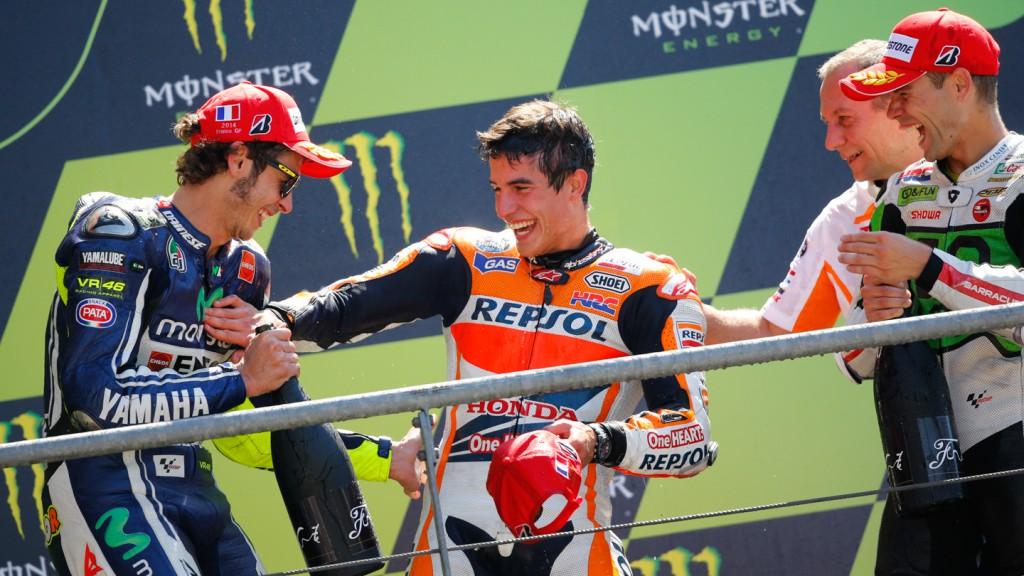 MotoGP Podium, FRA RACE