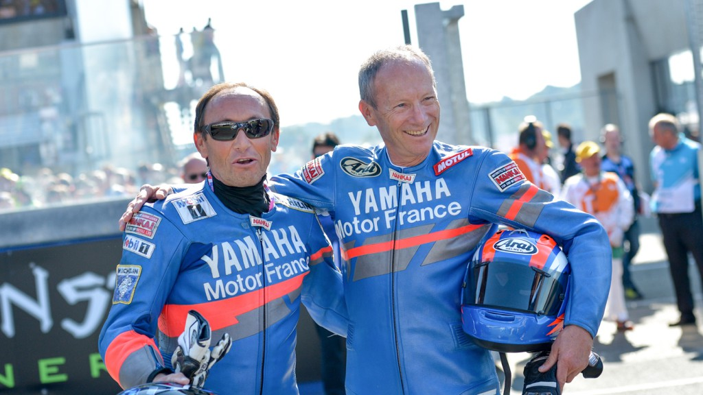 Christian and Dominique Sarron tribute, Le Mans