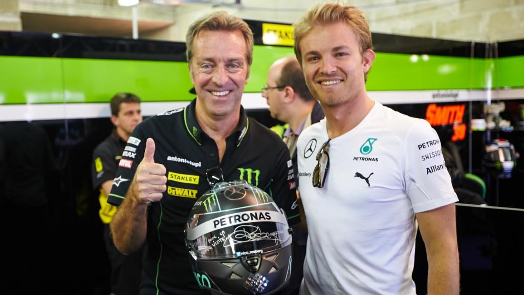 Nico Rosberg & Herve Poncharal, Monster Yamaha Tech 3, FRA RACE
