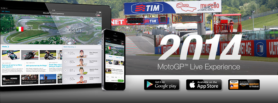Follow the Gran Premio d'Italia TIM with the MotoGP™ Live Experience App
