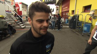 Mugello 2014 - Moto3 - FP2 - Interview - Romano Fenati