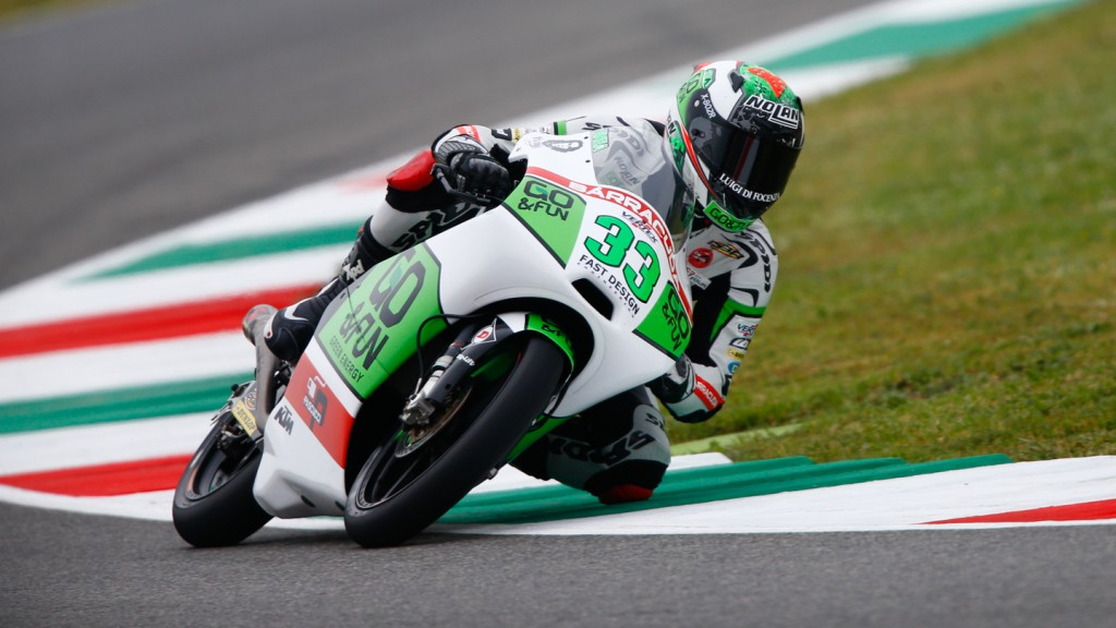 Enea Bastianini, Junior Team GO&FUN Moto3, ITA FP2