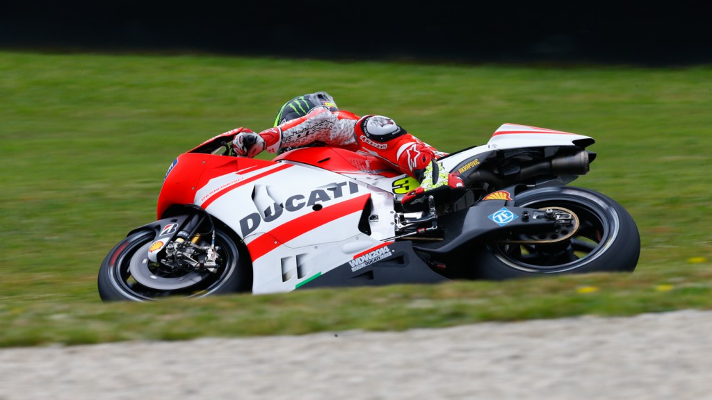 Cal Crutchlow, Ducati Team, ITA FP1