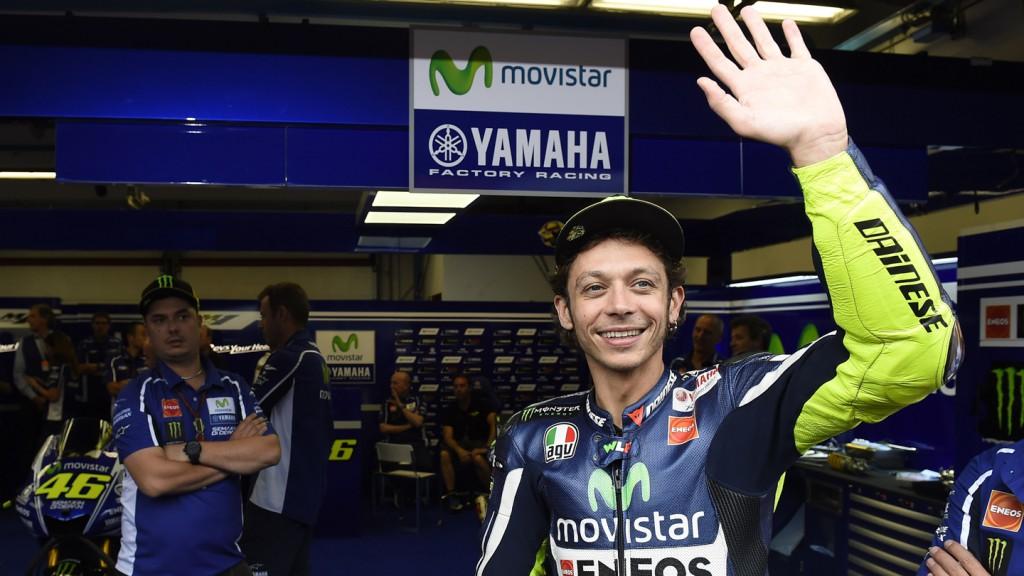 Valentino Rossi, Movistar Yamaha MotoGP, ITA FP2