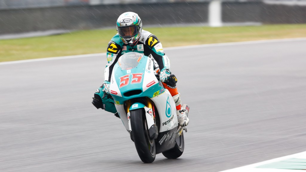 Hafizh Syahrin, Petronas Raceline Malaysia, ITA FP2