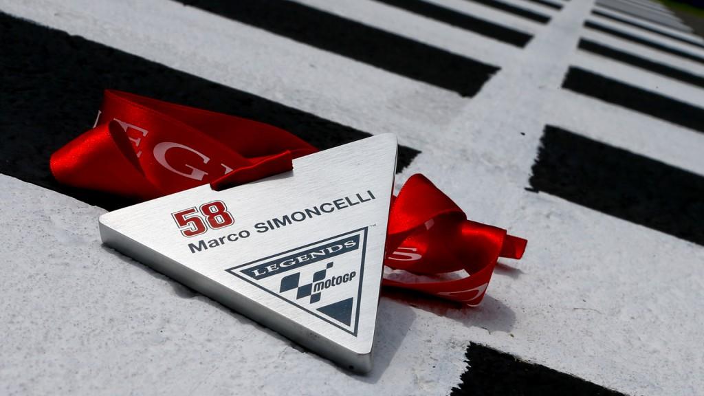 Marco Simoncelli MotoGP Legend