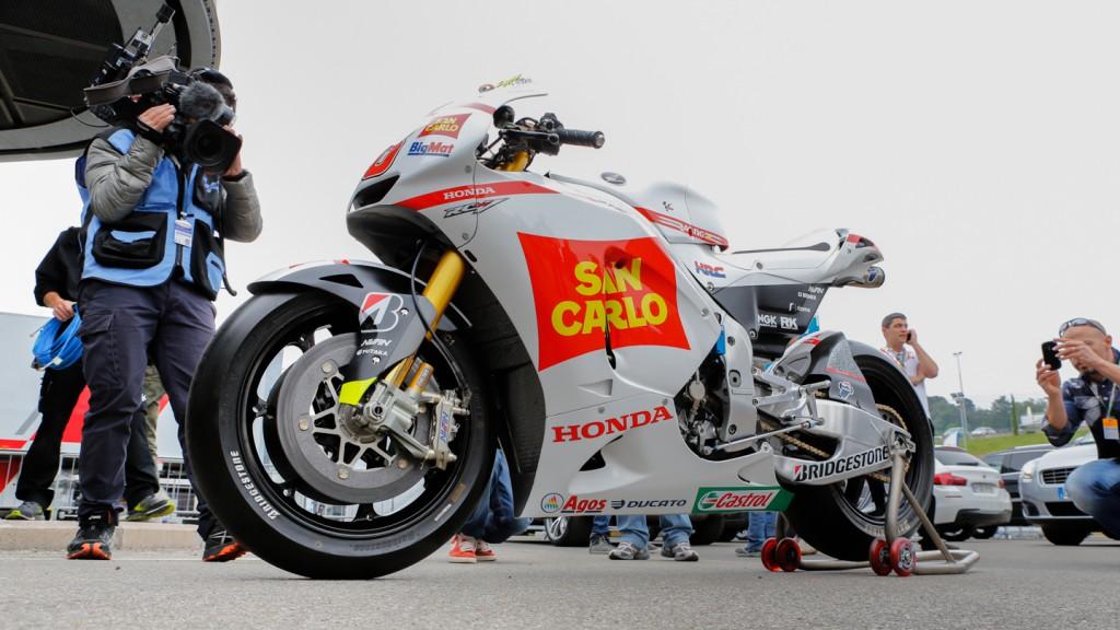 MotoGP Legend Marco Simoncelli Bike