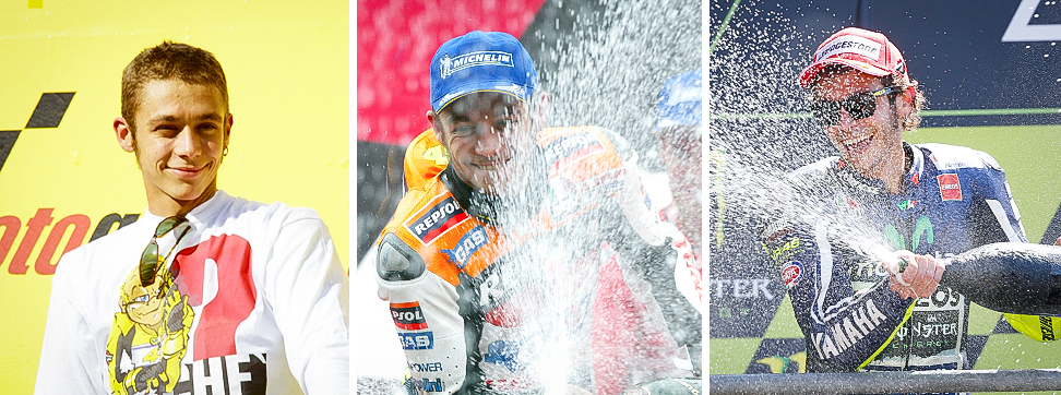 A celebration of Rossi's triple century