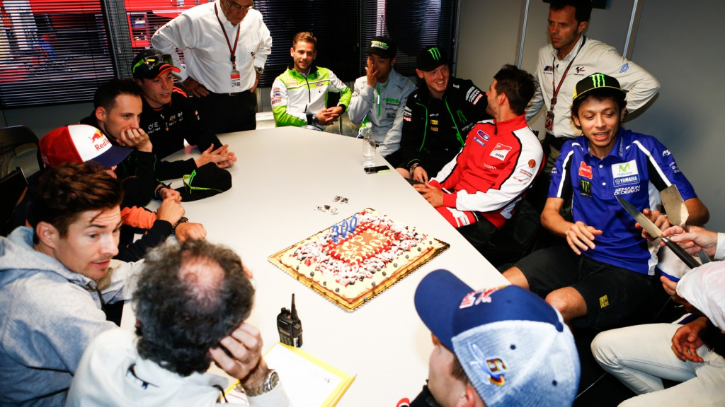 Rossi, celebrates 300 GP in Safety Commission