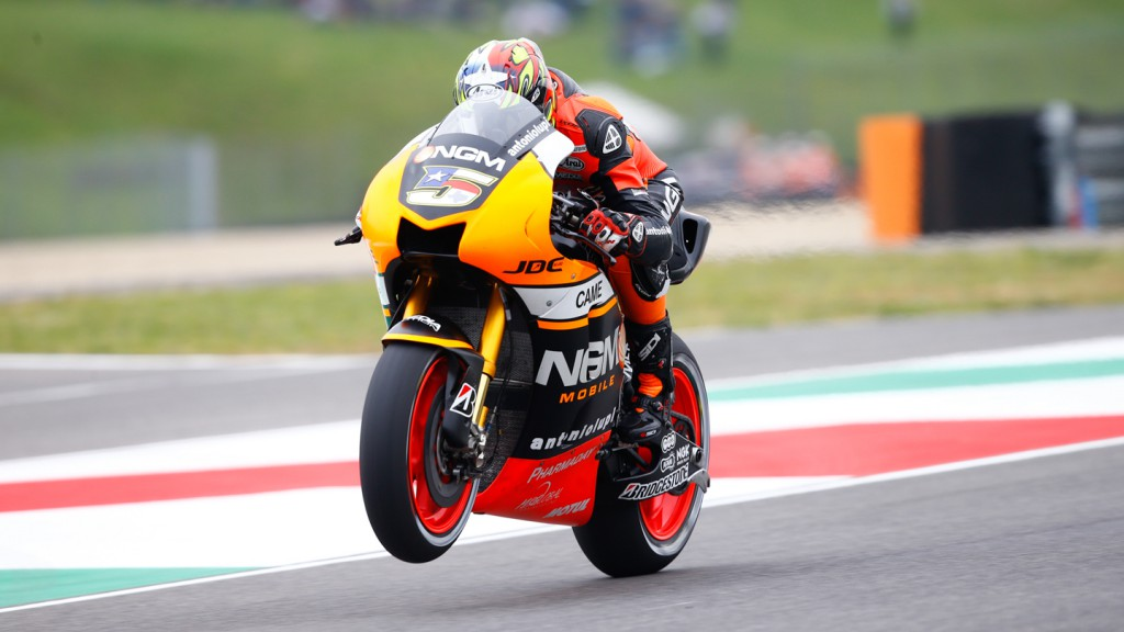 Colin Edwards, NGM Forward Racing, ITA Q1
